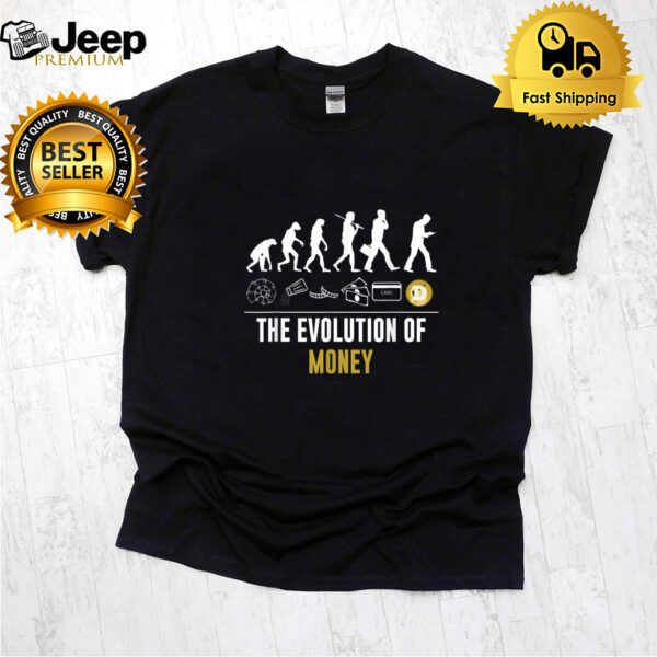 The Evolution of Money Doge Cryptocurrency Funny T-Shirt